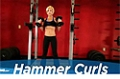 Exercise Guides: Hammer Curls, Female/Short Clip