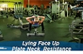 Exercise Guides: Lying Face-Up Place Neck Resistance, Female/Short Clip