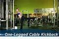 Exercise Guides: One-Legged Cable Kickback, Female/Short Clip
