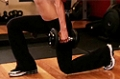 Exercise Guides: Dumbbell Lunges, Female/Long Clip