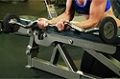 Exercise Guides: Palms-Up Barbell Wrist Curl Over A Bench, Female/Long Clip