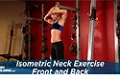 Exercise Guides: Isometric Neck Exercise - Front And Back, Female/Short Clip