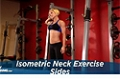 Exercise Guides: Isometric Neck Exercise - Sides, Female/Short Clip