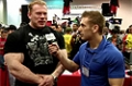 2010 Arnold Classic: Dennis Wolf At The BSN Booth