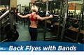 Exercise Guides: Back Flyes - With Bands, Female/Short Clip