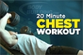 Video Article: 20 Minute Chest Workout