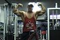 Masters Amateur Bodybuilder Jim Adams Posing
