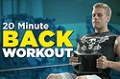 Video Article: 20 Minute Back Workout
