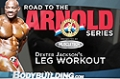 Road To The Arnold 2011: Dexter Jackson's Leg Workout