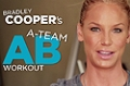 Bradley Cooper's Ab Workout w/ Ashley Conrad