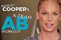 Bradley Cooper's Ab Workout w/ Ashley Conrad