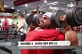 Jay Cutler Trains Shoulders 11 Days Out