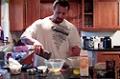 Hardcore 12 Week Daily Trainer Update - Week 6: Kris Makes Protein Muffins