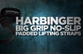 Accessory Guides: Harbinger Big Grip No Slip Padded Lifting