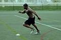 NFL Combine Trainer: 3 Cone Drill